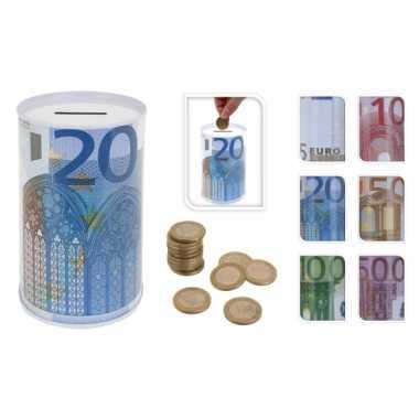 10 euro blikspaarpot 13 cm