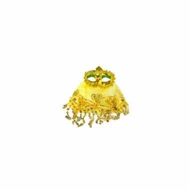 1001 nachten oogmasker geel