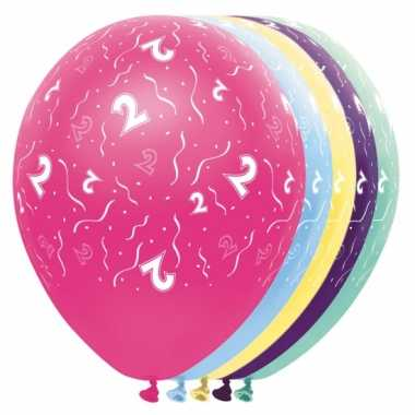 2 jaar versiering helium ballonnen