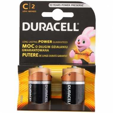 2 pack duracell batterijen cr14