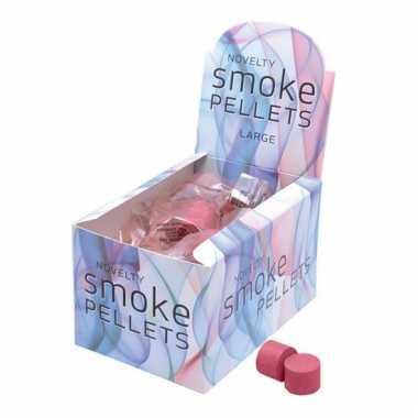 2 rode rook tabletjes