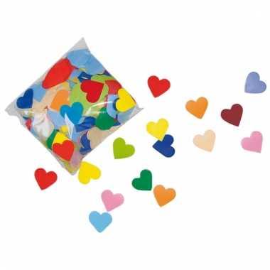 250 gram hartjes confetti van papier