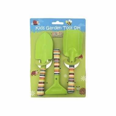 3-delige tuin speelgoedset voor jongens