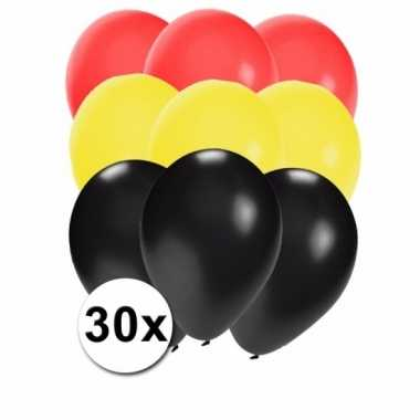 30 stuks ballonnen kleuren duitsland
