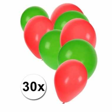 30 stuks ballonnen kleuren portugal