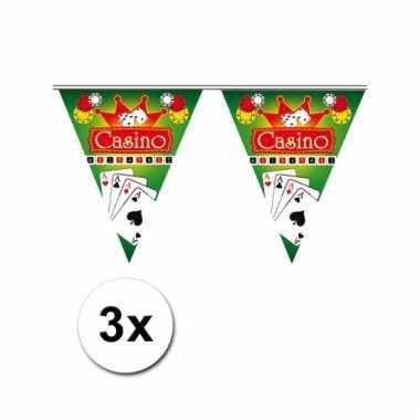 3x las vegas thema vlaggenlijn casino