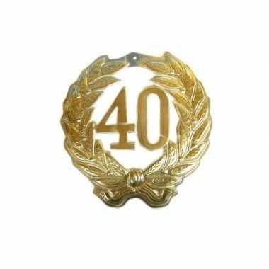 40 jaar jubileum krans