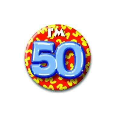 50 jaar button