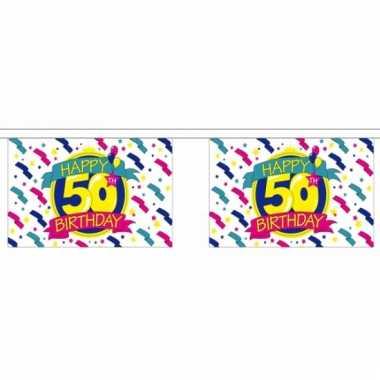 50e verjaardag slinger deluxe