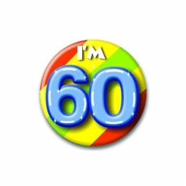 60 jaar button