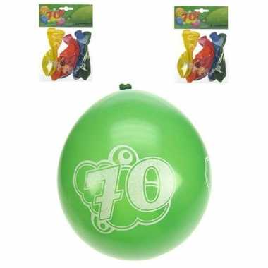 70 jaar feest ballonnen