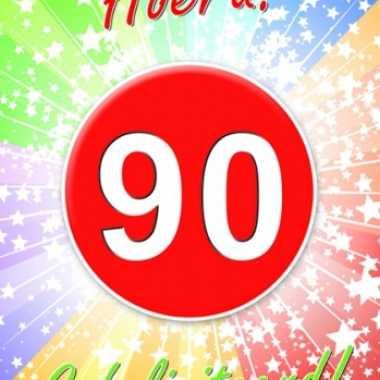 90jaar thema deurposter