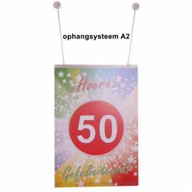 A2 posters ophang stuk