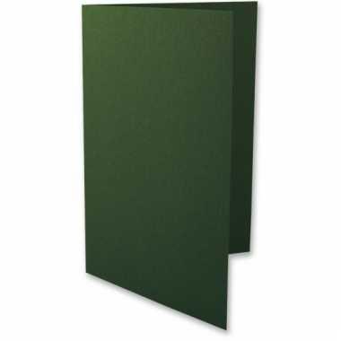 A6 formaat kaarten in het groen 5x