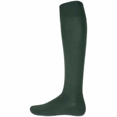 Afgeprijsde 1 paar hoge sport sokken groen
