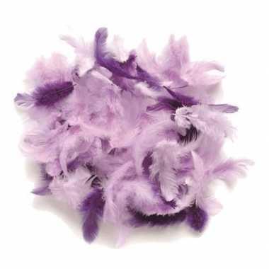 Afgeprijsde 10 gram decoratie sierveren paars tinten