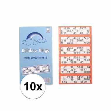 Afgeprijsde 1000x bingokaarten set