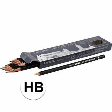 Afgeprijsde 12x hb potloden hardheid hb