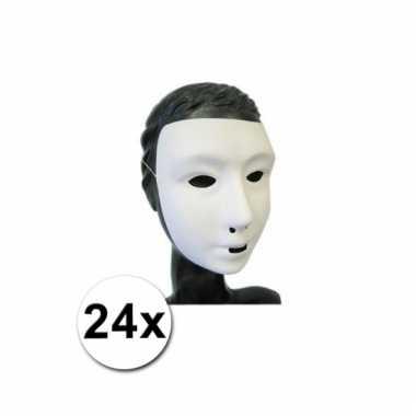 Afgeprijsde 24 grimeer maskers mensen gezicht