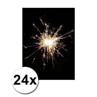Afgeprijsde 24 lange kinder feest sterretjes