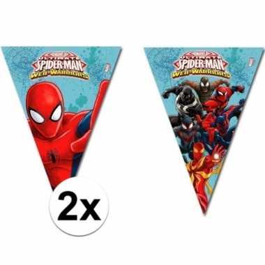 Afgeprijsde 2x spiderman slinger s2,3 meter