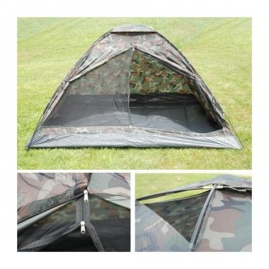 Afgeprijsde 3-persoons camouflage tent