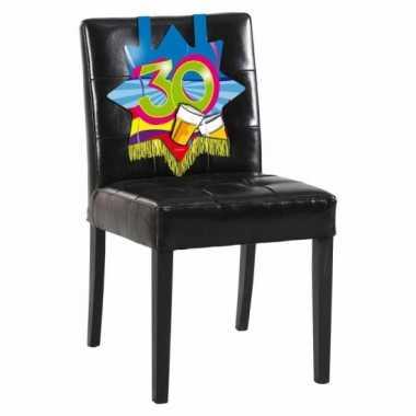 Afgeprijsde 30 jaar decoratiebord voor op een stoel