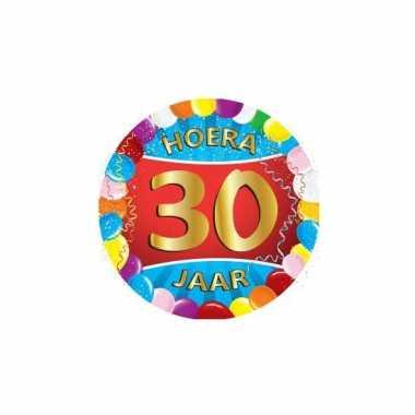 Afgeprijsde 30 jaar verjaardag party viltjes