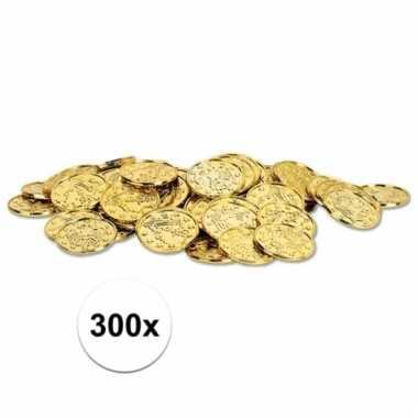 Afgeprijsde 300x piratengeld gouden munten