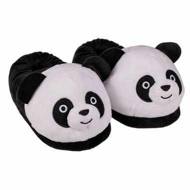 Afgeprijsde 3d panda pantoffels voor dames