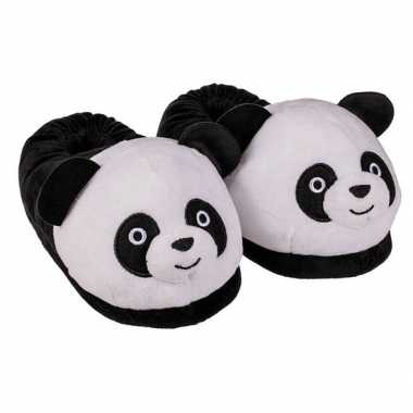 Afgeprijsde 3d panda pantoffels voor kinderen