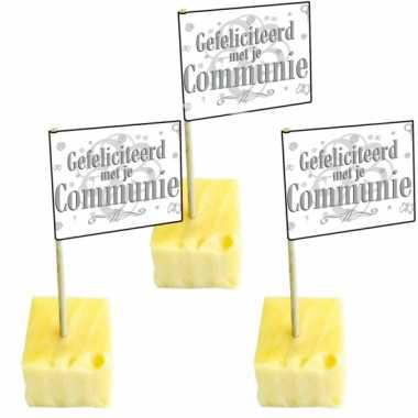 Afgeprijsde 50 cocktailprikkers communie