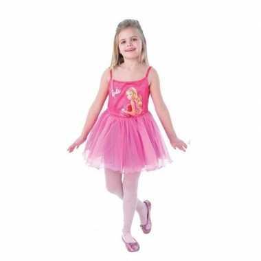 Afgeprijsde barbie ballerina verkleedkleding voor meisjes