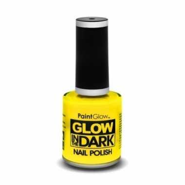 Afgeprijsde black light neon gele nagellak lichtgevend