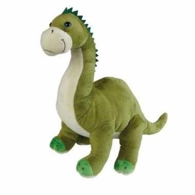 Afgeprijsde dino knuffels brontosaurus 30 cm
