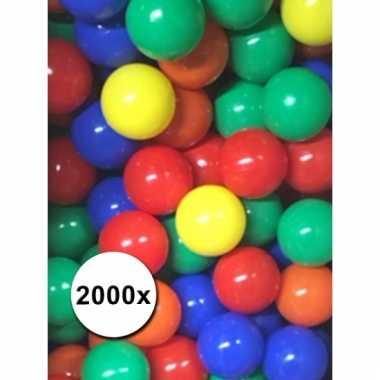 Afgeprijsde gekleurde ballenbak ballen mix 2000x