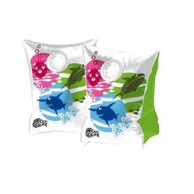 Afgeprijsde gekleurde beco zwemmouwtjes maat 0 15-30 kg