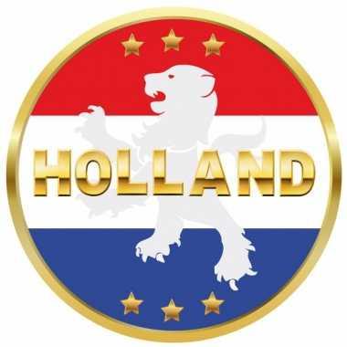 Afgeprijsde holland bierviltjes met leeuw 25x