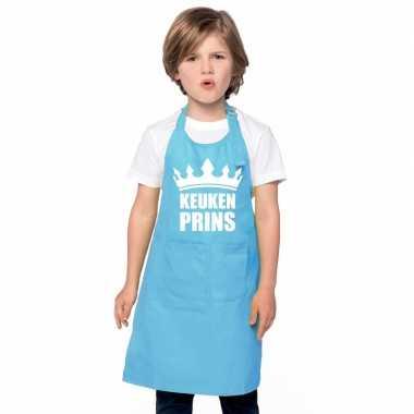 Afgeprijsde keukenprins kookschort jongens blauw