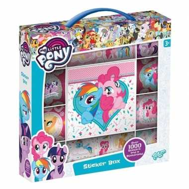 Afgeprijsde kinderspeelgoed my little pony 1000 st