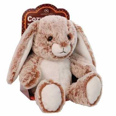 Afgeprijsde knuffel konijntje met lavendel
