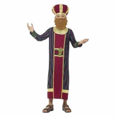 Afgeprijsde koning balthazar kerst verkleedkleding voor jongens