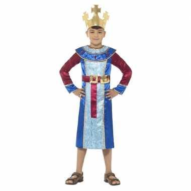 Afgeprijsde koning melchior kerst verkleedkleding voor jongens
