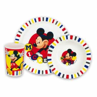 Afgeprijsde mickey mouse lunch set voor kids