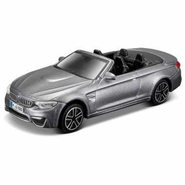 Afgeprijsde model auto bmw m4 cabrio 1:43