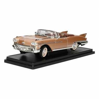 Afgeprijsde model auto cadillac eldorado 1958 1:18