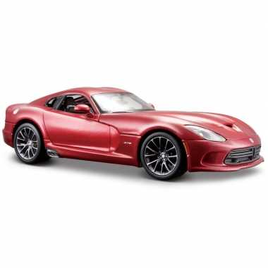 Afgeprijsde model auto dodge viper gts srt 2013 1:24