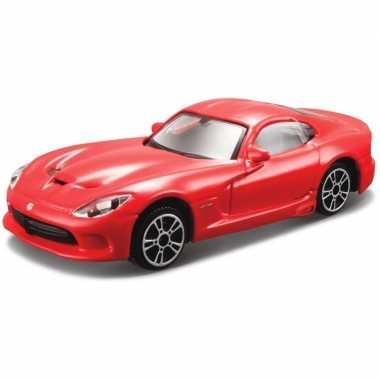 Afgeprijsde model auto dodge viper gts srt 2013 1:43