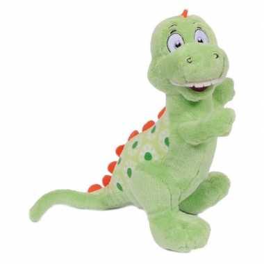 Afgeprijsde pluche dinosaurier tyrannosaurus 20 cm