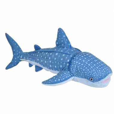 Afgeprijsde pluche haaien knuffels 50 cm